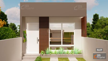 Projeto 659 - Fachada Frontal: undefined