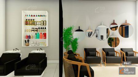 Projeto 661 - Interior do Salão de Beleza: undefined