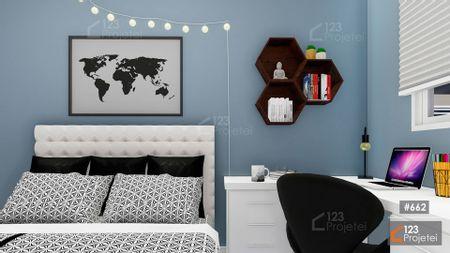 Projeto 662 - Dormitório: undefined