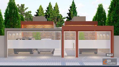 Projeto 662 - Fachada Moderna: undefined