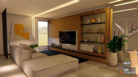 Projeto 673 - Sala de Estar: undefined