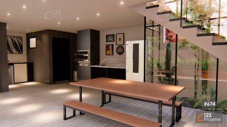 Projeto 674 - Área Gourmet: undefined