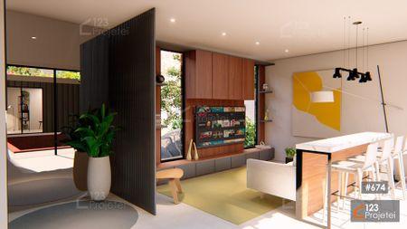 Projeto 674 - Sala de Estar: undefined