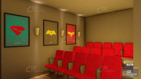 Projeto 678 - Sala de Cinema: undefined