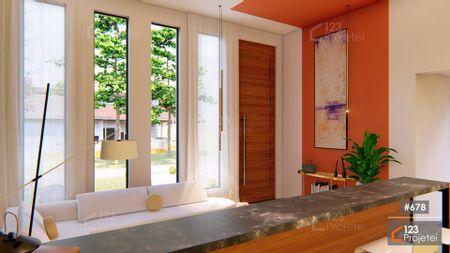 Projeto 678 - Sala de Estar e Hall: undefined