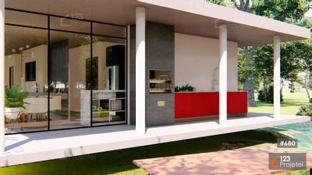 Projeto 680 - Área Gourmet: undefined