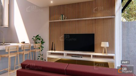 Projeto 681 - Sala de Estar: undefined